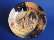 Royal Doulton 'Gnomes B - Munchkins' Rack Plate D4697 c1929 (Sold)